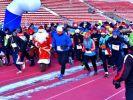 Рождественский полумарафон в Красноярске собрал рекордное количество участников