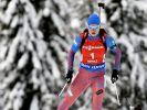 Француженка Дорен-Абер выиграла пасьют на этапе КМ по биатлону в Оберхофе
