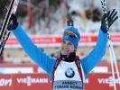 Весь пьедестал в индивидуальной гонке в Арбере заняли российские спортсменки