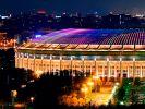 """В """"Лужниках"""" начали работы по созданию архитектурной подсветки фасада стадиона"""
