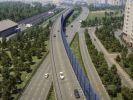 Первый участок трассы Солнцево-Бутово-Видное запустят осенью 2018 года