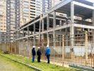 В Долгопрудном провели проверку строительства школы