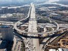 Более 500 км дорог построили в Москве