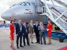 Аэрофлот присвоил имя ярославского авиастроителя Павла Дерунова первому из новой партии лайнеров Sukhoi Superjet 100