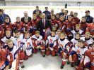 Владимир Путин посетил новое Государственное училище олимпийского резерва по хоккею в Ярославле