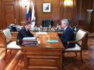 В Москве состоялась рабочая встреча Алексея Миллера и Ивана Белозёрцева