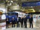 В новом корпусе КАМАЗа выпущен 1-тысячный газомоторный автомобиль