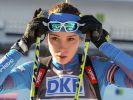 Россиянка Ульяна Кайшева выиграла спринт на Кубке IBU в Осрблье