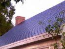 Солнечная черепица Tesla устанавливается на крышах заказчиков