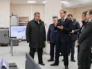 НА ОКБ им. М.П. Симонова главе Минпромторга Денису Мантурову представили разработки в области цифровых технологий