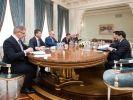 Алексей Миллер иМинистр энергетики Казахстана Канат Бозумбаев обсудили перспективы сотрудничества