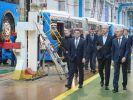 Новый электробус представили Сергею Собянину и Андрею Воробьёву