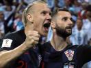 Хорваты Вида и Вукоевич посвятили Украине победу над Россией
