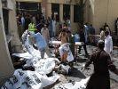 Теракт на митинге в Пакистане: 128 погибших
