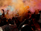 В Каталонии протестующие заблокировали магистрали и железные дороги