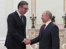Песков назвал темы переговоров Путина и Вучича
