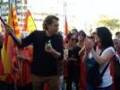 В Каталонии более 40 человек пострадали в ходе беспорядков