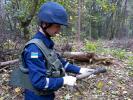 В окрестностях горевшего под Черниговом арсенала нашли сотни боеприпасов