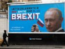Humorous Billboards with Putin Appeared on the Streets of London