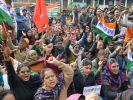 В забастовке в Индии принимают участие около 200 млн человек