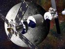Роскосмос: внешний вид окололунной станции определён, и она будет не одна