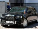 New Russian Cars Aurus Was Presented at the Motor Show in Geneva