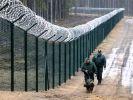 Латвия возвела забор длиной 93 км на границе с Россией