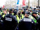 Во Франции в 21 раз пройдёт митинг «жёлтых жилетов»