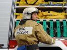 В Челябинской области ликвидировали пожар в колбасном цеху