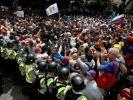 Пик массовых протестов в Венесуэле ожидается сегодня