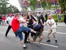 Испанская полиция сегодня задержала фанатов «Ливерпуля» в Барселоне