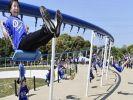 Самые длинные в мире качели установили в Японии