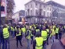 """Массовые задержания """"жёлтых жилетов"""" начались в Брюсселе"""