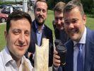 Зеленский порекомендовал политикам питаться шаурмой