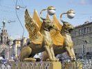 Банковский мост открыли сегодня в Петербурге