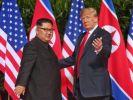 Ким Чен Ын поздравил Трампа с днём рождения