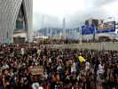 Из-за протестов в Гонконге закрыли железнодорожный терминал