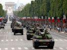 После парада в честь Дня взятия Бастилии в Париже начались беспорядки