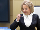 Matvienko Said the Authorities have No Plans to Restrict the Internet