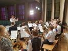 Израильский духовой оркестр выступил в московском Музее Победы