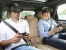 Porsche тестирует VR в авто