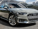 Audi Showed the Updated A4 Allroad