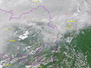 Дым и смог от пожара в Сибири достиг Монголии