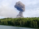 A Series of Explosions Occurred at an Ammunition Depot Near Achinsk