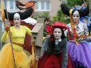 Фестиваль уличных театров стартовал сегодня в Туле