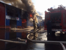 A Fire Broke Out in a Warehouse in Krasnoyarsk