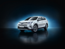 Hybrid SUV Toyota RAV4 Is Being Tested in Europe
