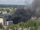 In Balashikha, a Chemical Plant Workshop Caught Fire