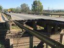В Харькове рухнула часть моста