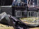 В Германии во время концерта обрушилась декорация